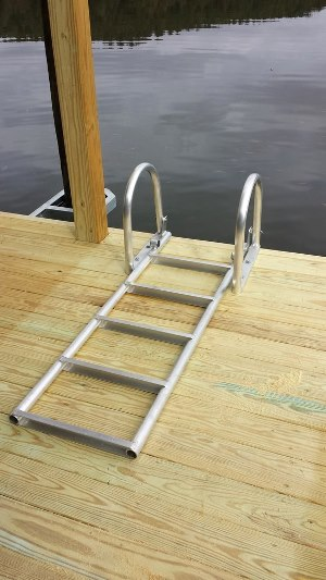 Free Flip Up Ladder With Any New Dock System Renegar