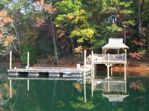 New Boat Docks, Mountain Island Lake, NC