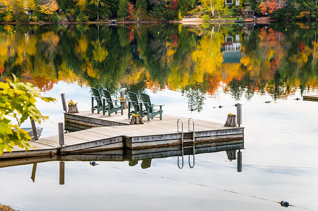 The Perfect Floating Dock